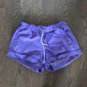 Lululemon cuffed shorts